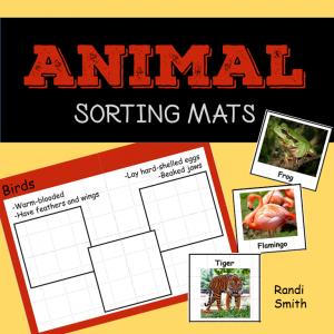 Cover of Animal Sorting Mats