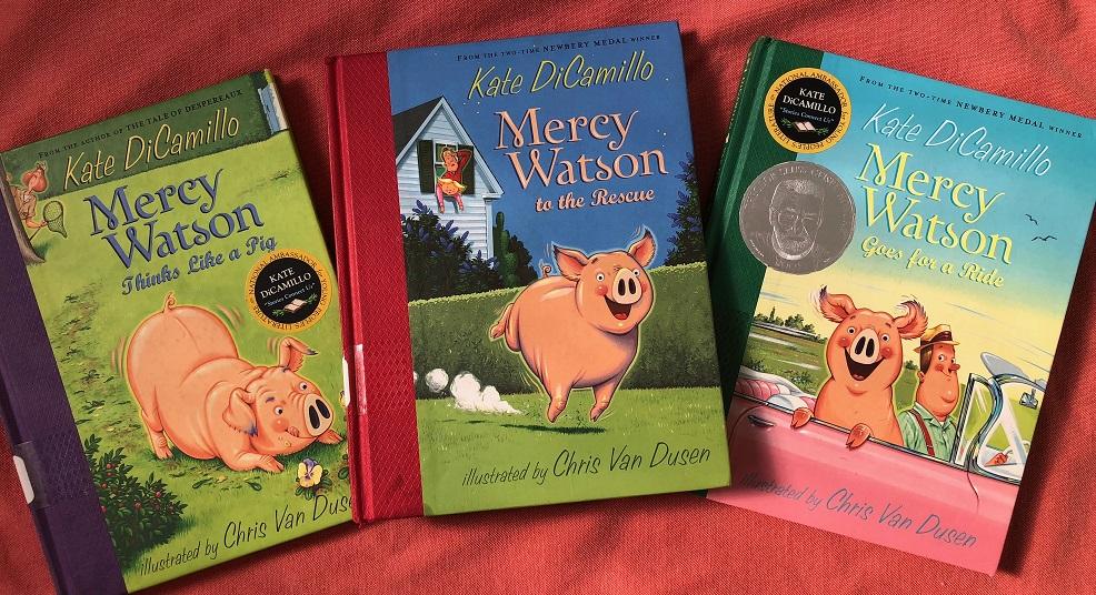 Three Mercy Watson books