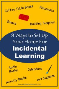 Blog cover for 8 Ways to Set Up Your Home for Incidental Learnig