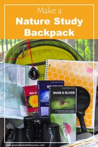 How to Make a Nature Study Backpack