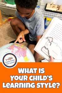 Pinnable cover for blog post What is Your Child's Learning Style?