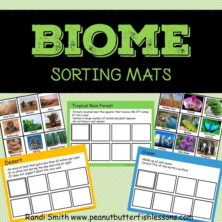 Biome Sorting Mats