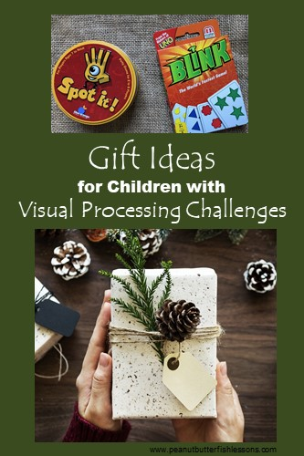 Check out these 14 great gift ideas for children with visual processing disorder.