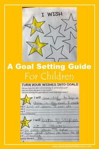 Help your children turn wishes into goals with this free printable.