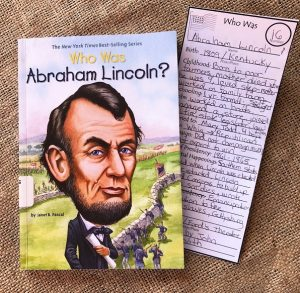 Check out these note taking bookmarks for the Who Was...Presidents series.