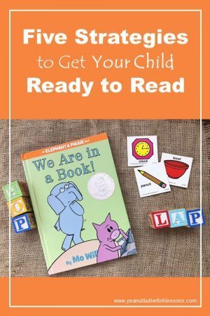 Five strategies for getting your child ready to read.