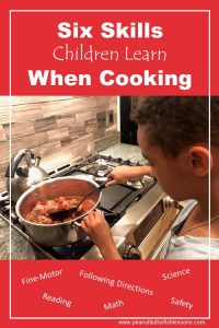 Six Skills Children Learn By Cooking
