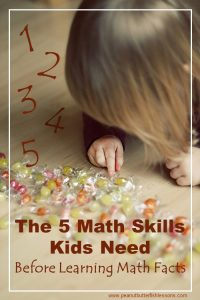 The Five Math Skills Kids Need Before Learning Math Facts