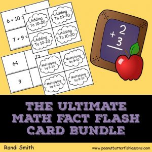 Cover of The Ultimate Math Fact Flash Card Bundle