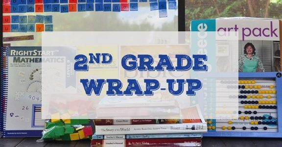 Blog cover picture for 2nd grade wrap-up