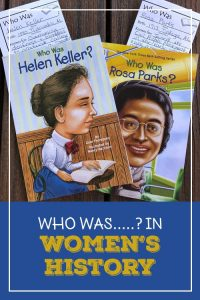 Cover for Blog Post Who Was....? in Women's History