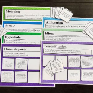 Descriptive Language Sorting mats