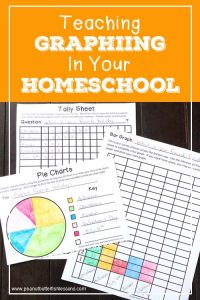 Blog Post cover for Teaching Graphing in Your Homeschool
