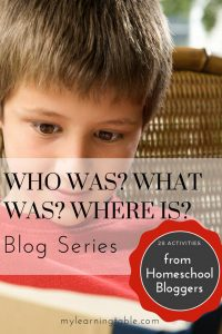 Cover of the Who Was What Was Where Was Blog Series