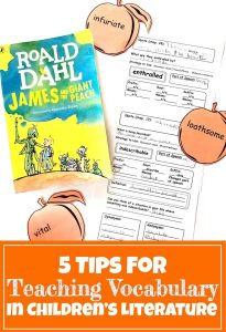 Cover for 5 Tips for Teaching Vocabulary in Children's Literature