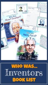 Blog Post Cover for Who Was...Inventors Book List
