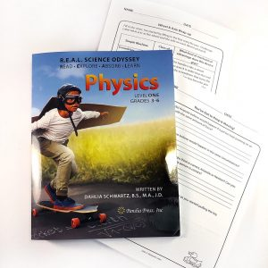 REAL Science Odyssey Level One Physics Book with workbook pages