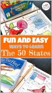 Blog post cover Fun and Easy Ways to Learn the 50 States
