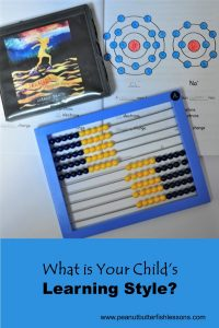 Pinnable cover to the blog post What is Your Child's Learning Style?