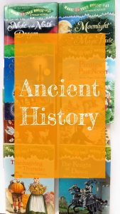 Link to post about Magic Tree House Ancient History books