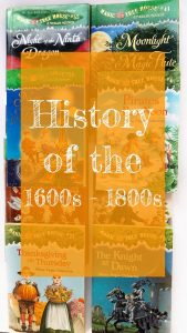 Link to List of Books for the 1600s - 1800s