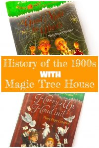 Blog Post Cover for Teaching History of the 1900s with Magic Tree House