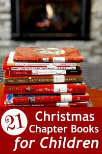 Cover for blog post 21 Christmas Chapter Books for Chidlren