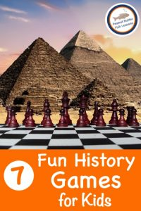 Cover for Blog Post 7 Fun History Games for Kids
