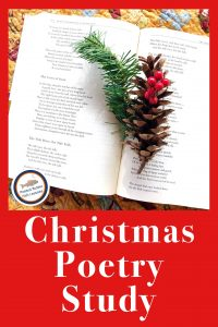 Cover for blog post Christmas Poetry Study for All Ages