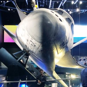 Front of Space Shuttle Atlantis