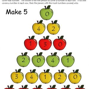Fall Number Sense Packet for Kindergarten and 1st Grade