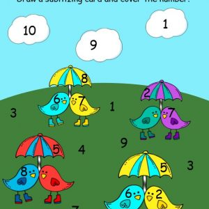 Seasonal Number Sense Packets for Kindergarten and 1st Grade