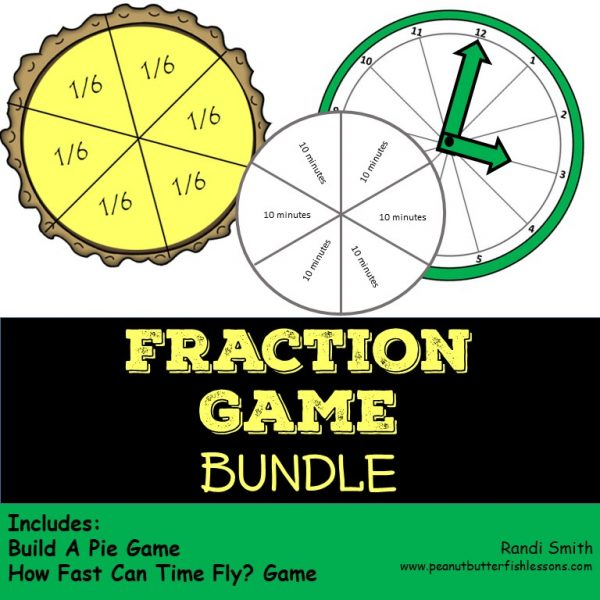 Cover for Bundle of two fractions games
