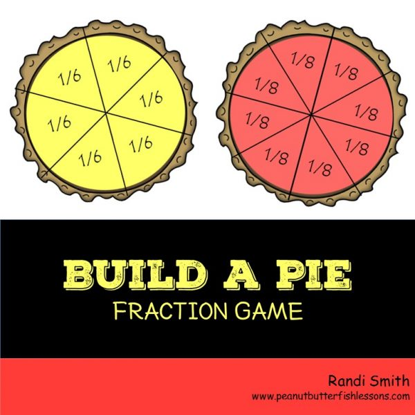 Cover for product Build a Pie Fraction Game