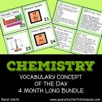 Cover for the product Chemistry Vocabulary Concept of the Day