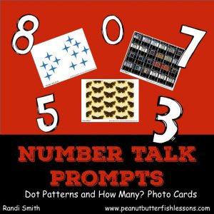 Product cover for Number Talk Task Cards