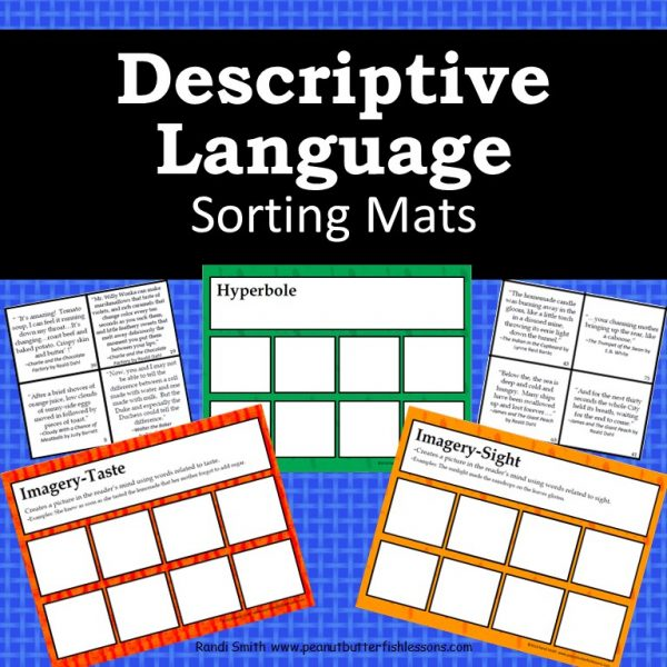 Cover for Descriptive Language Sorting Mats