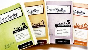 Four All About Spelling Books