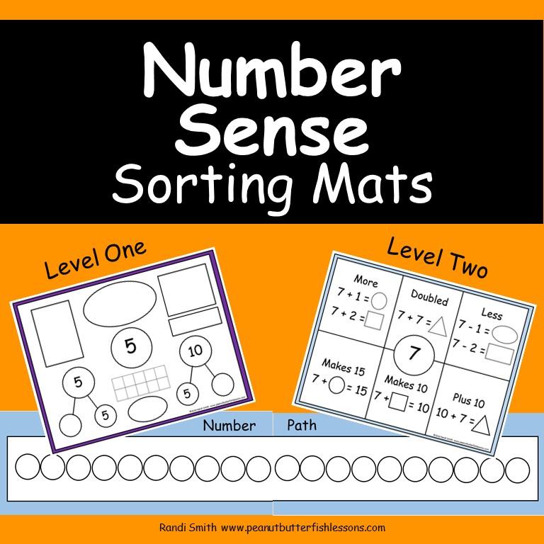 Number Sense Sorting Mats
