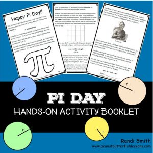 Cover for product, Pi Day Hands-On Activity Booklet