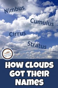 Pinnable cover image for blog post How Clouds Got Their Names
