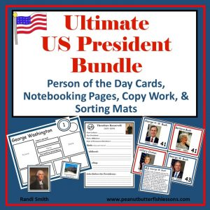 Product Cover Ultimate US President Bundle showing title and pictures of products.