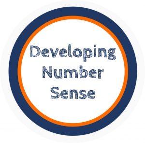 Graphic saying Developing Number Sense
