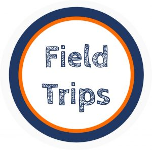 Graphic saying Field Trips