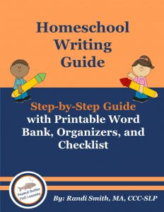 Cover for Homeschool Writing Guide Book