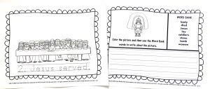 Printable pages from Holy Week Pack in the Celebrate It Grab Bag.