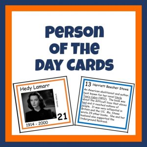 Person of the Day Cards