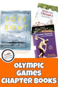 List of chapter books about the Olympics.